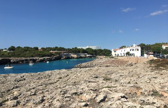 Cala Blanca resort in Menorca