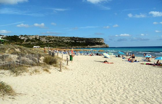 Beaches in Menorca
